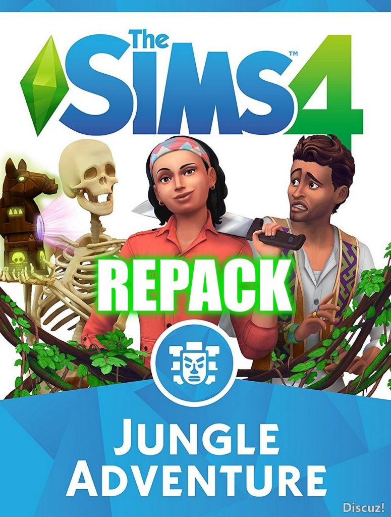 THE SIMS 4: JUNGLE ADVENTURE (V1.40.61.1020 – ALL DLCS)