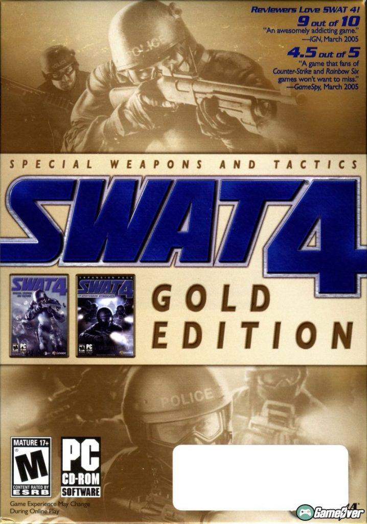 SWAT 4: GOLD EDITION – GOG CLASSIC