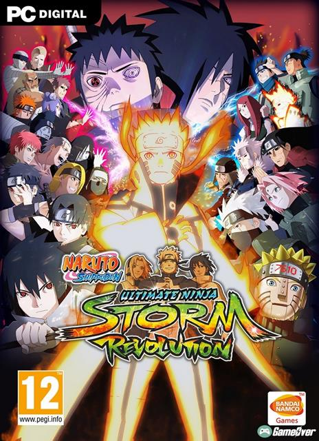 NARUTO SHIPPUDEN: ULTIMATE NINJA STORM REVOLUTION (All DLCs)