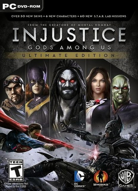 INJUSTICE: GODS AMONG US ULTIMATE EDITION (ALL DLCS)